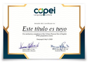 PTE Certificación Internacional